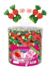 Strawberry flavour lollipops 10g