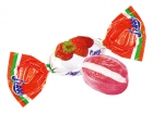 Strawberry flavour candies
